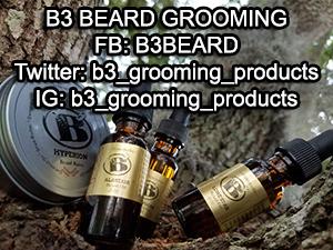 Hyperion Beard Balm, B3 Beard